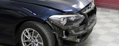Réparation pare-choc, spot repair